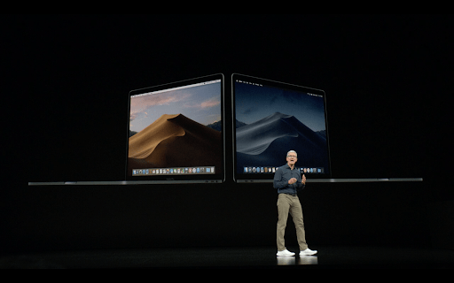 New and updated Mojave apple event updates Parangat