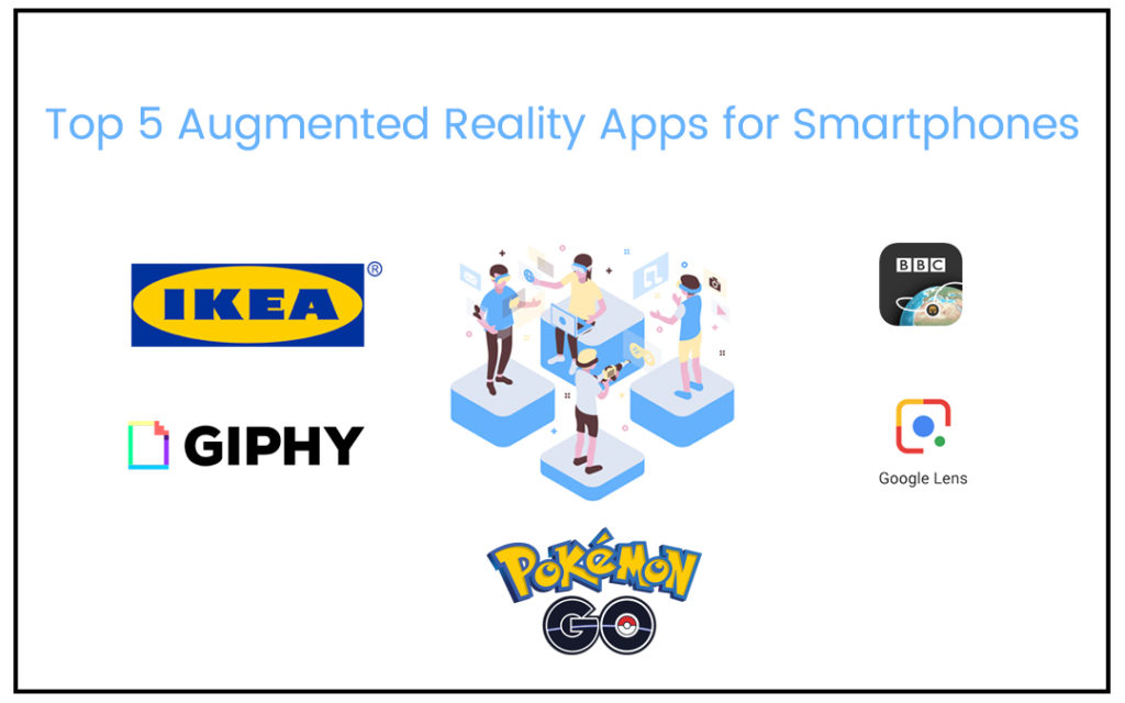 Top 5 Augmented Reality Apps for Smartphones - Parangat Technologies