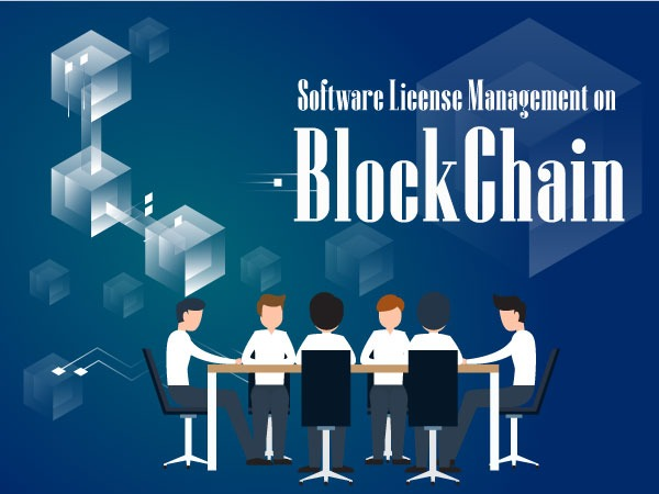 Software License Management on  Blockchain