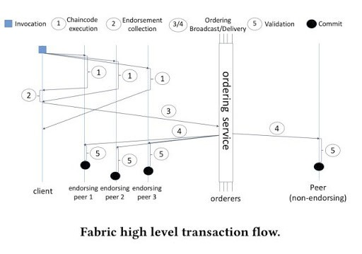 Hyperledger Fabric Process