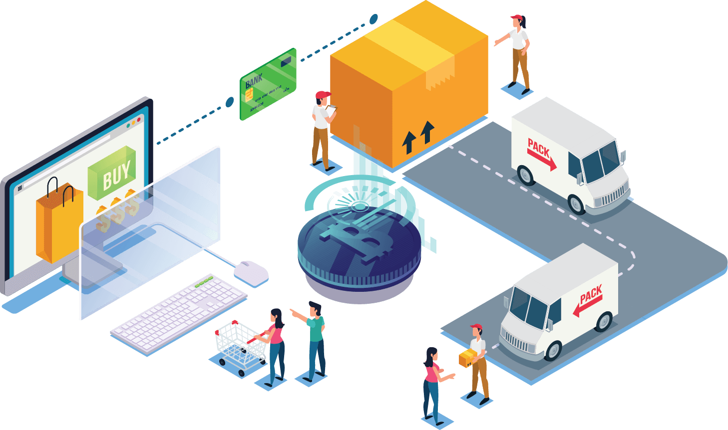 Blockchain Based Solutions on Supply Chain
